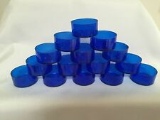 Tea Light Cups. Polycarbonate BLUE (X 60)