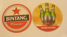 BINTANG PILSNER Beer Mat Coaster INDONESIA 2014 Bersama Kita Bintang Asia RARE