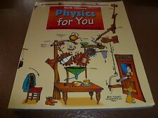 Physics For You Revised National Curriculum Edition for GCSE Keith Johnson