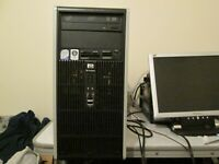 HP dc5800 Tower Intel Core 2 Duo 3.00Ghz PC, 500Gb HDD, 8Gb RAM, DVD/RW, Win 10