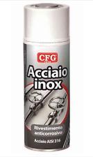 ACCIAIO INOX SPRAY 400 RIVESTIMENTO PROTETTIVO ANTICORROSIVO INOX 18/10 AISI 316