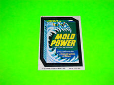 1974 TOPPS CHEWING GUM SERIES 8 MOLD POWER STICKER DECAL