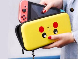 Pikachu Pokemon Nintendo Switch Hard Case Cover Travel Shell Joy-con Let's Go