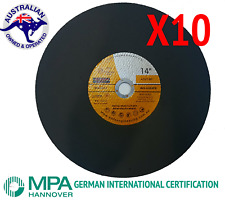 WHFE ENGINEERING PTY LTD WHFE355 14 inch Metal Cut Off Wheel Inox
