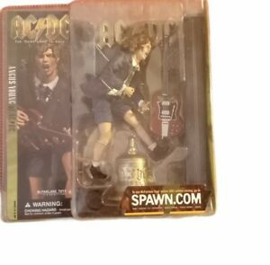 McFarlane AC/DC Angus Young Action Figure in Schoolboy Outfit Spawn.Com New