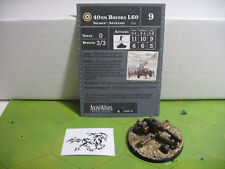 Axis & Allies Contested Skies 40mm Bofors L60 with card 14/45