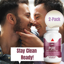 Colon Cleanse & Stay Clean with Psyllium Husk Compare to Pure for Men 2-Pack