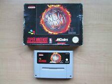 Super Nintendo - SNES - NBA Jam TE - Boxed - NO Manual.