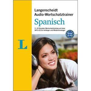 SPANISCH Anfänger-Wortschatz lernen - Audio-Training mit MP3-CD + Begleitheft