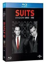 Blu Ray SUITS - *** Stagioni 01-03 (Box 11 Dischi) Serie Tv *** ....NUOVO