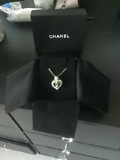 Chanel Diamante Heart necklace