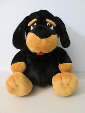 "Toy Factory Rottweiler Dog Plush Stuffed Animal 15"""
