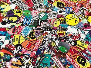 [16,00€/ m²] Stickerbombfolie Autofolie Stickerbomb folie sticker  Aufkleber