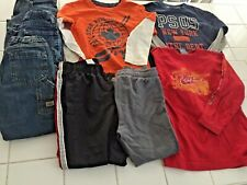 8 piece Boys Lot Size 5/6 Jeans and long sleeve