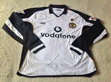 2001-02 Manchester United Away/Third L/S retro Jersey Paul Scholes (Mint Cond)