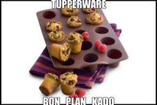Moule à mini muffins en silicone - Tupperware **NEUF**