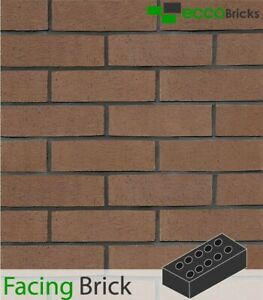 Extruded Facing Brick, 215x102x65mm, Natural Finish - 600qty (Brown)