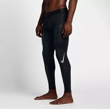 Nike Pro Hyperwarm Aeroloft Running Tights Black Size Extra Large XL 810383-010