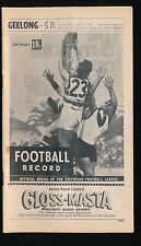 1969 VFL Football Record Geelong v South Melbourne April 19 Cats Swans