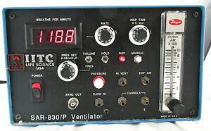 IITC Life Science SAR-830/P Animal Ventilator~ For PARTS / REPAIR