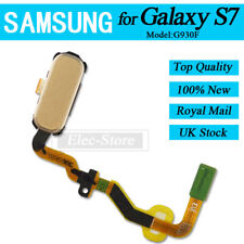 Gold Home Button For Samsung Galaxy S7 Replacement with Finger Print Sensor OEM