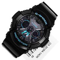 Casio Men's GA-201BA-1A G Shock Analog-Digital Display Quartz Black Watch