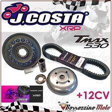 KIT VARIATEUR J.COSTA XRP RACING + COURROIE YAMAHA T-MAX TMAX 530 2016