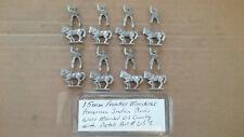 15mm Frontier Miniatures American Plains war -  Mounted US Cavalry w/ Pistols