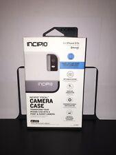 Incipio Focal Camera Case  Apple iPhone 5/5S - White/Gray matte & rigid plastic