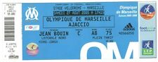 Billet  / Place  OM Olympique de Marseille - OM vs Ajaccio ( 036 )
