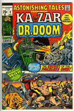 ASTONISHING TALES #3 - Ka-Zar by Smith - Dr Doom by Wood