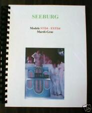 Seeburg Model Std4 Estd4 Mardi-Gras Jukebox Manual