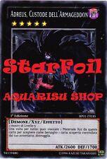 Yu-Gi-Oh! Adreus Custode dell'Armageddon StarFoil 1° ED in ITALIANO BP01-IT030