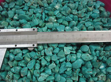 100g  Mini Turquoise howlite Rough Rock Polished Dyed Green China