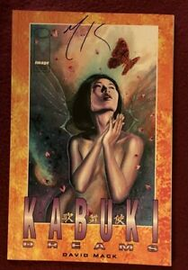 Image Kabuki Dreams Signed By Davis Mack 1998 Excellent Condition.
