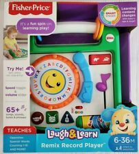 Fisher-Price Laugh & Learn Remix Record Player NIB