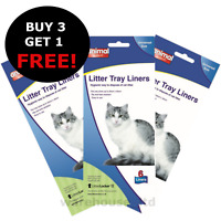 Large Cat Litter Tray Liner 55x40cm Animal Instincts -  BUY 3 GET 1 FREE!