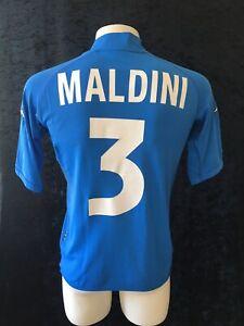 Italia 2002 Italy Original Football Maglia Home Shirt Maillot KAPPA KIT MALDINI