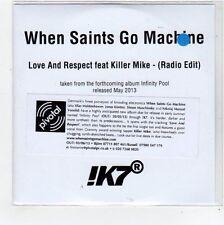 (FC859) When Saints Go Machine, Love & Respect ft Killer Mike - 2013 DJ CD