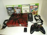 Microsoft Xbox 360 S Gears of War 3 Limited Edition 320GB Red & Black Console