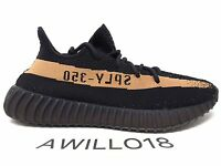 Adidas Yeezy Boost 350 V2 SPLY Black Copper Stripe BY1605 UK 5 6 7 8 9 10 11 US