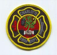 North Carolina Charlotte Douglas Engine 41 Interntl Airport NC Fire Dept Patch