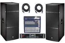 EV Elx215 PA System Peavey Cs1400 Amp Soundcraft Signature 12 Electro-voice Band