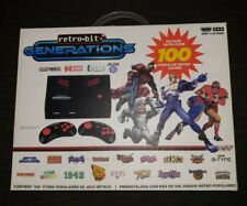 Retro-Bit Generations  - Plug and Play Game Console - 100 Games Retro Games