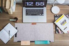 Schreibtischunterlage Computerunterlage Tastaturunterlage aus Filz  63x33x6cm