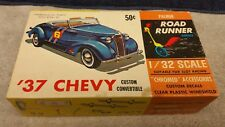 Vintage Palmer 1/32 Scale '37 Chevy Custom Convertible Plastic Model Kit  Boxed
