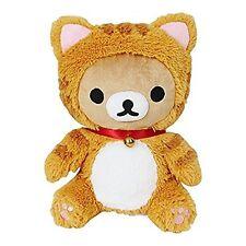 San-X Rilakkuma Cat Head Cover Stuffed Toy Plush