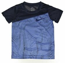 Nike Short Sleeved Shirt, Size 6, Blue, Gift $24, Dri Fit, Athletic 86C008-B9A
