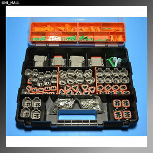 448 PCS DEUTSCH DT Connector Kit with 14 AWG Solid Contacts (Made in USA)