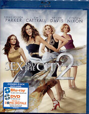 SEX AND THE CITY 2 - Blu-Ray+DVD, NUOVO E SIGILLATO, PRIMA EDIZIONE ITALIANA